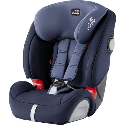 Детское автокресло Britax Römer Evolva 1-2-3 SL SICT Isofix Moonlight Blue 2021 - большое изображение