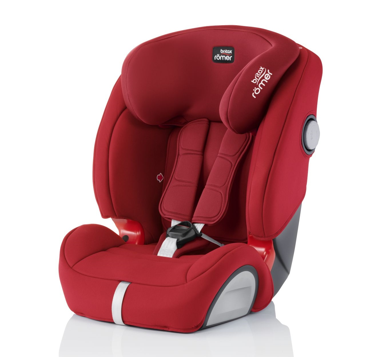 britax r mer kindersitz evolva 1 2 3 sl sict isofix 2018 flame red online kaufen bei kidsroom. Black Bedroom Furniture Sets. Home Design Ideas