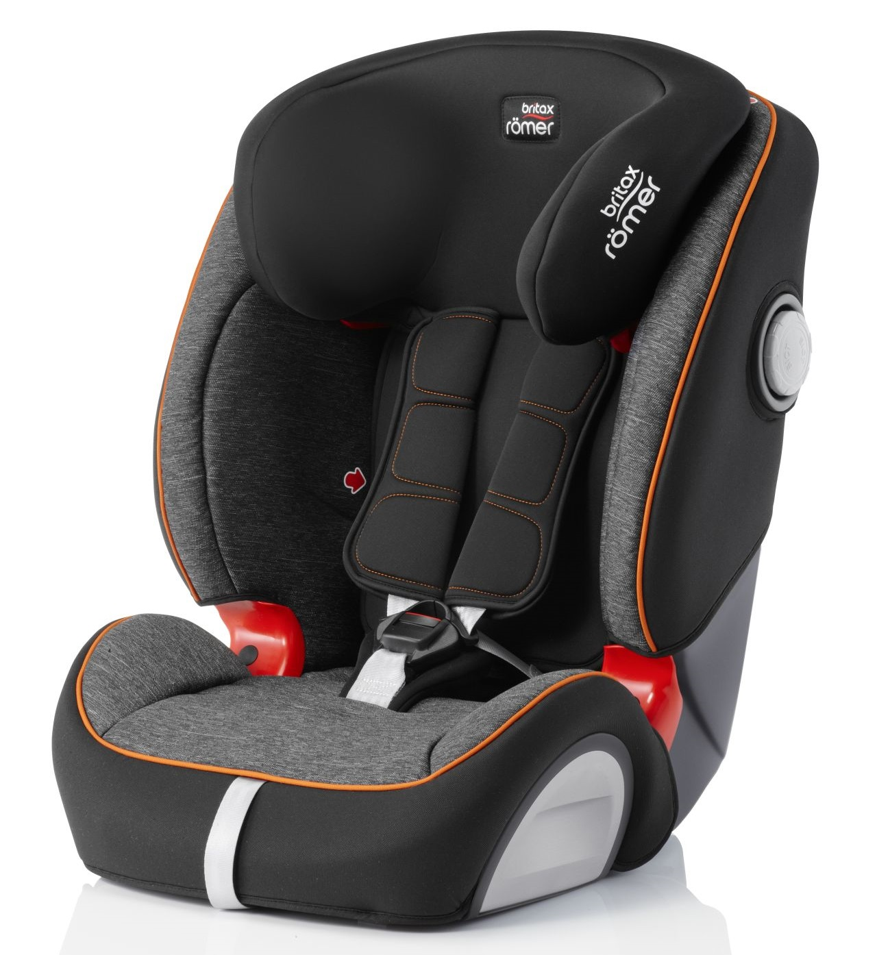 britax r mer kindersitz evolva 1 2 3 sl sict isofix 2019 black marble online kaufen bei kidsroom. Black Bedroom Furniture Sets. Home Design Ideas