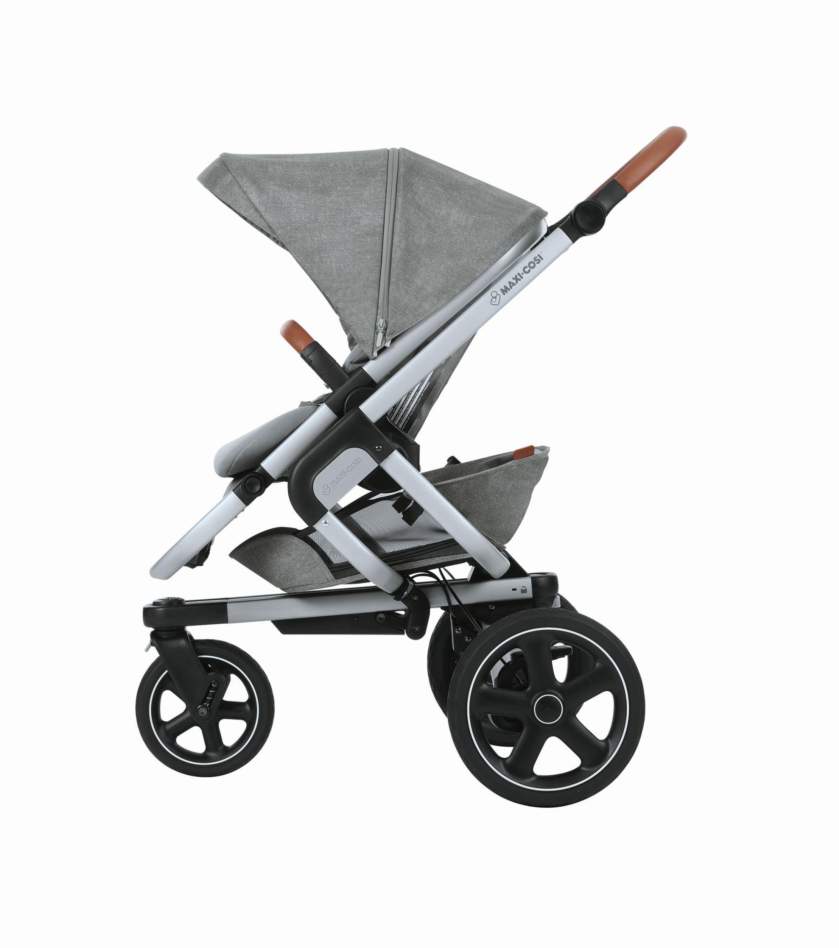 poussette maxi cosi nova 3 roues 2018 nomad grey acheter sur kidsroom poussettes. Black Bedroom Furniture Sets. Home Design Ideas