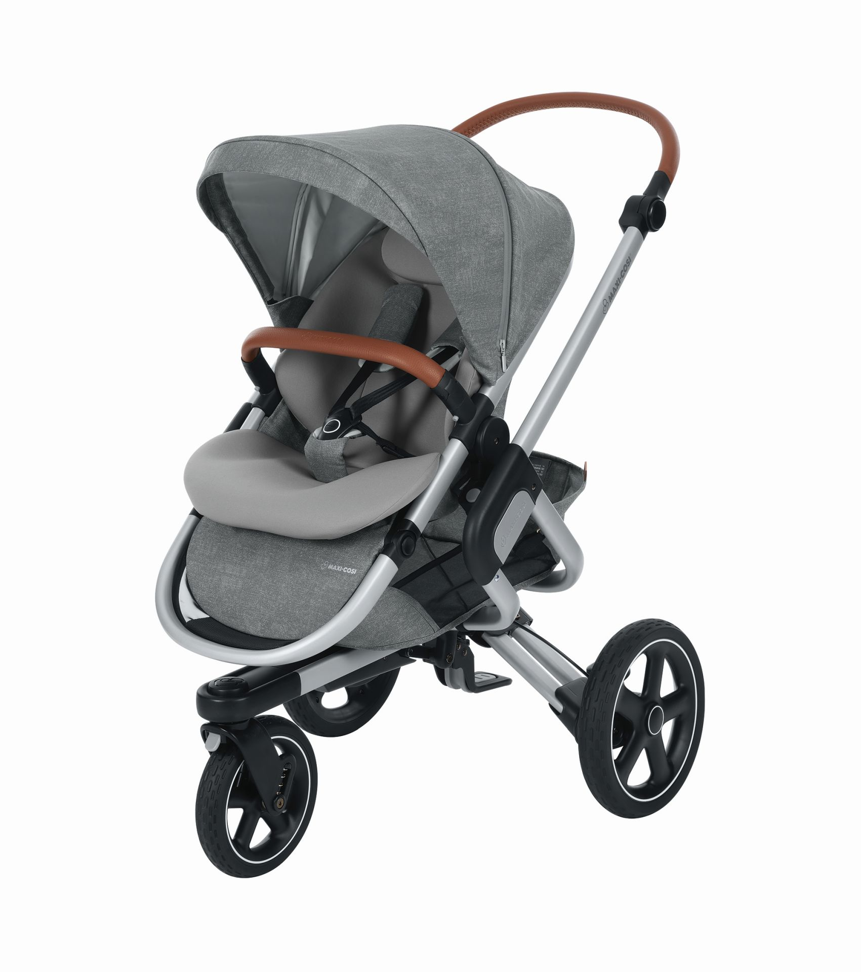 maxi cosi kinderwagen nova 3 rad 2018 nomad grey online. Black Bedroom Furniture Sets. Home Design Ideas