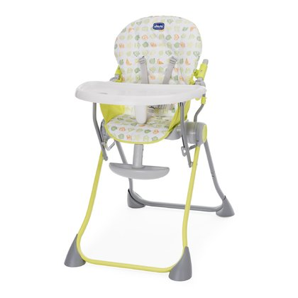 Chicco high chair Pocket Meal Green Apple 2017 - large image