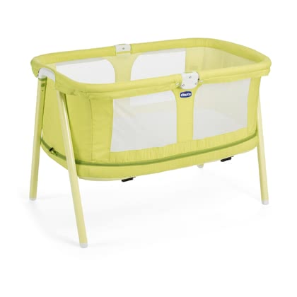 Chicco lit de voyage LullaGo Zip Lemon Drop 2017 - Image de grande taille
