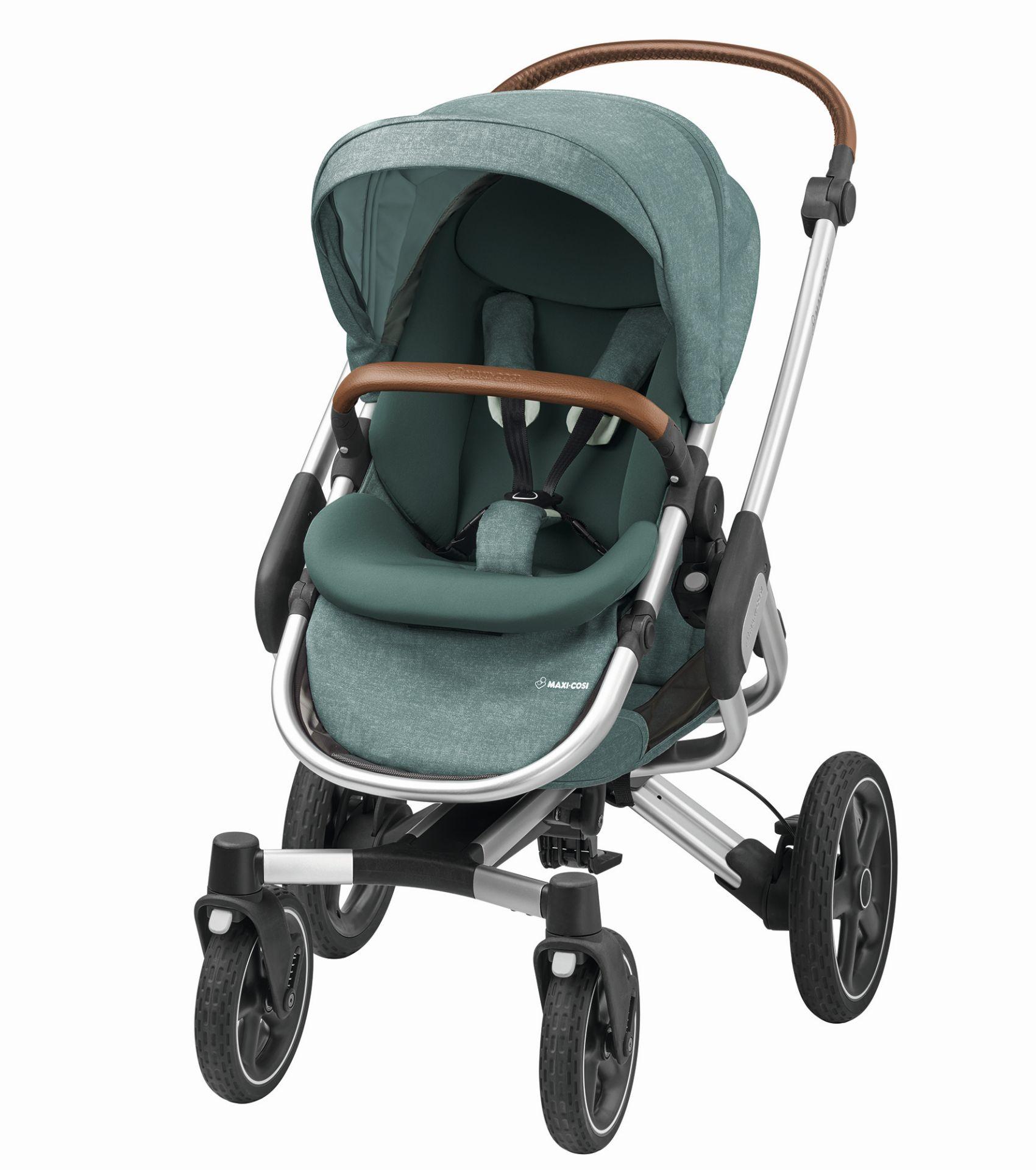 maxi cosi kinderwagen nova 4 rad 2017 nomad green online kaufen bei kidsroom kinderwagen. Black Bedroom Furniture Sets. Home Design Ideas