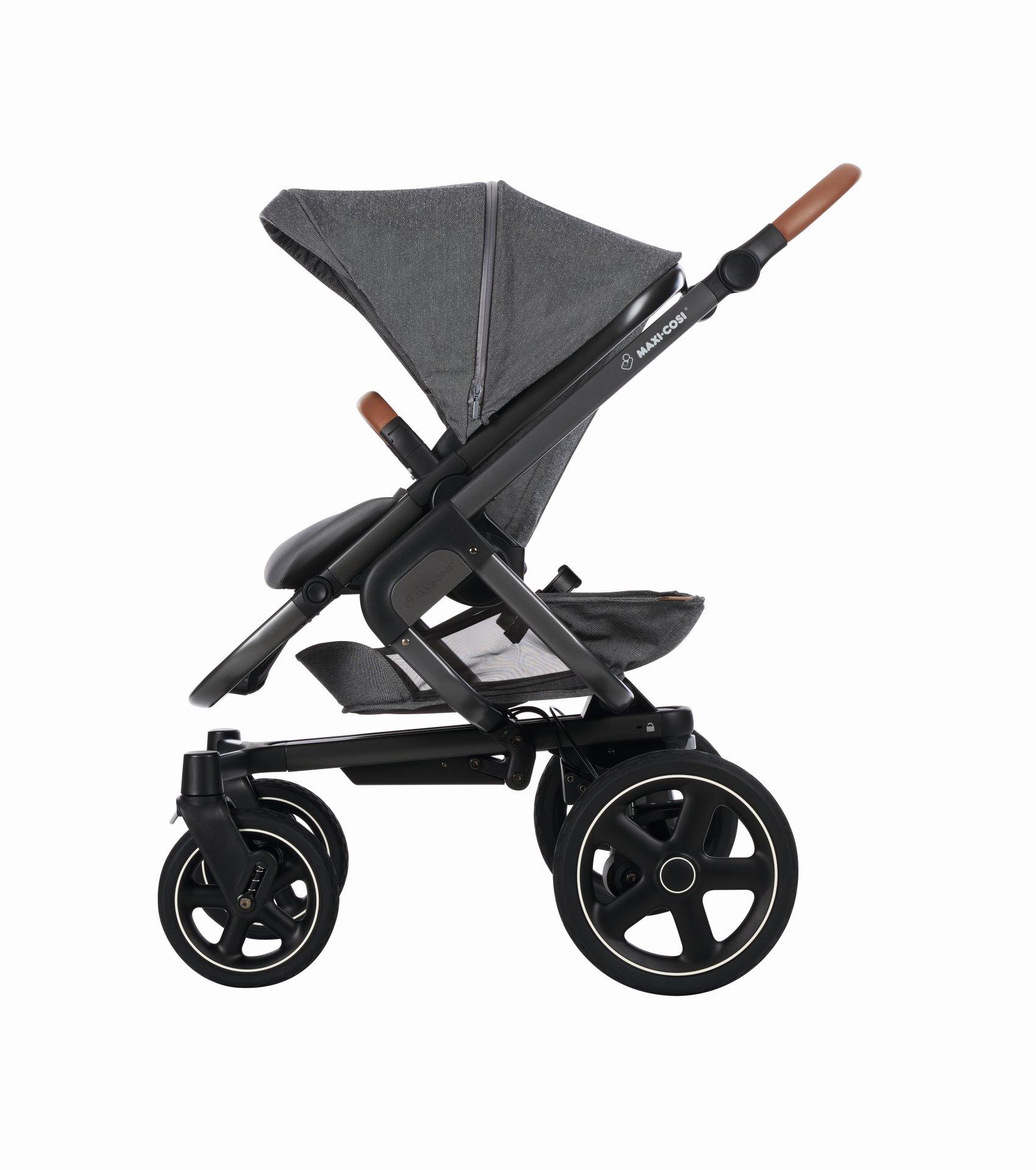 poussette maxi cosi nova 4 roues 2018 sparkling grey acheter sur kidsroom poussettes. Black Bedroom Furniture Sets. Home Design Ideas