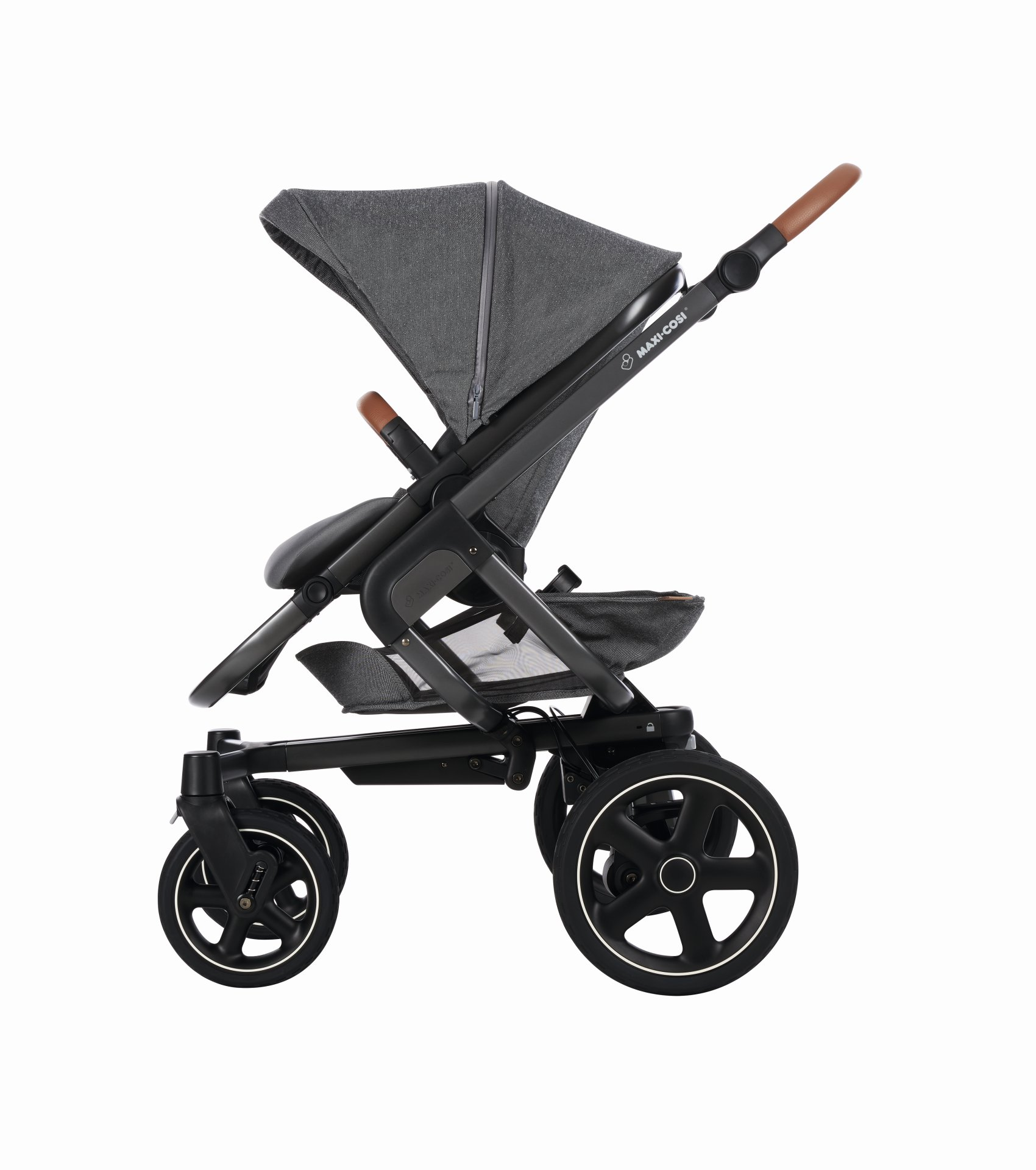 poussette maxi cosi nova 4 roues 2018 sparkling grey. Black Bedroom Furniture Sets. Home Design Ideas