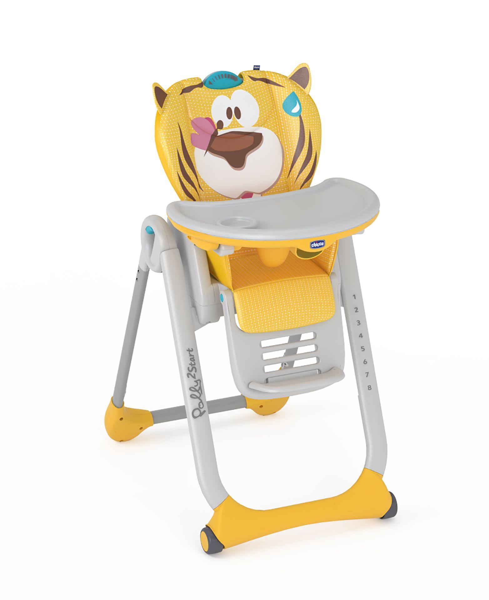 chicco chaise haute polly 2 start 2017 peaceful jungle acheter sur kidsroom alimentation. Black Bedroom Furniture Sets. Home Design Ideas