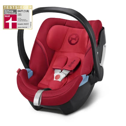Cybex Babyschale Aton 5 Rebel Red - red 2018 - Großbild