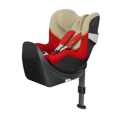 Cybex Kindersitz Sirona M2 i-Size inkl. Base M Autumn Gold - burnt red 2020 - Großbild