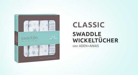 Classic Swaddle Wickeltücher 4er Pack
