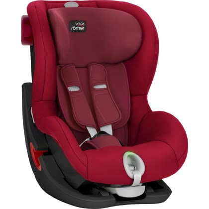 Britax Römer Kindersitz King II LS -Black Series- Flame Red 2017 - large image