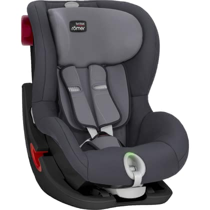 Детское автокресло Britax Römer King II LS - Black Series Storm Grey 2019 - большое изображение