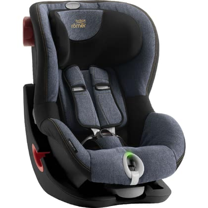 Детское автокресло Britax Römer King II LS - Black Series Blue Marble 2019 - большое изображение
