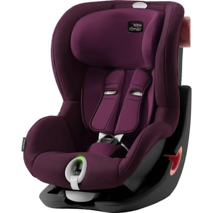 Britax Römer Kindersitz King II LS -Black Series Burgundy Red 2019 - Großbild