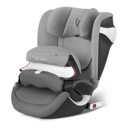 Детское автокресло Cybex Juno M-Fix Manhattan Grey - mid grey 2017 - большое изображение