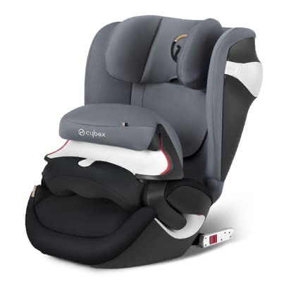Cybex car seat Juno M-Fix - The Juno M-Fix is a new one in group 1 of Cybex car seats. It has a depth-adjustable impact shield and a clever air circulation system.