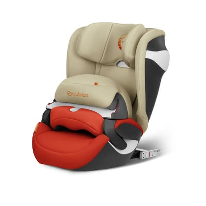 Детское автокресло Cybex Juno M-Fix Autumn Gold - burnt red 2018 2018 - большое изображение