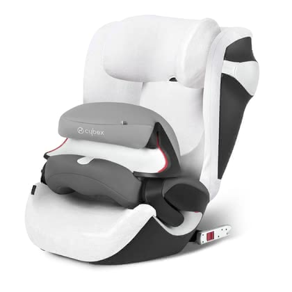 Cybex Sommerbezug für Kindersitz Juno M-Fix - The Cybex summer cover is ideal suitable for warm weatherthat is suitable for the Cybex child seat Juno M-fix and not come as quickly in the sweating you...