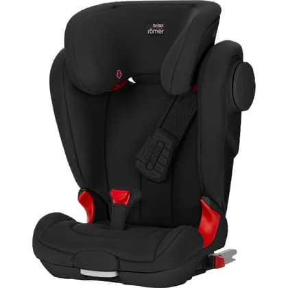 Britax Römer car seat Kidfix II XP SICT - Black Series Cosmos Black 2018 - large image