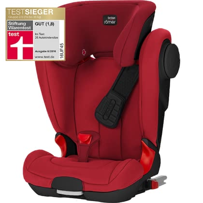 Britax Römer детское автокресло Kidfix II XP SICT-Black Series Flame Red 2018 - большое изображение