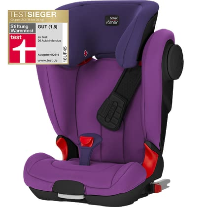 Britax Römer детское автокресло Kidfix II XP SICT-Black Series Mineral Purple 2017 - большое изображение
