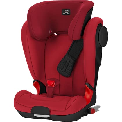 Britax Römer детское автокресло Kidfix II XP SICT-Black Series Fire Red 2019 - большое изображение