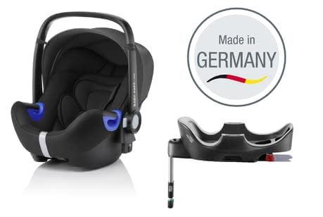 Britax Römer infant carrier Baby Safe i-Size incl. Flex Base Cosmos Black 2017 - 大圖像