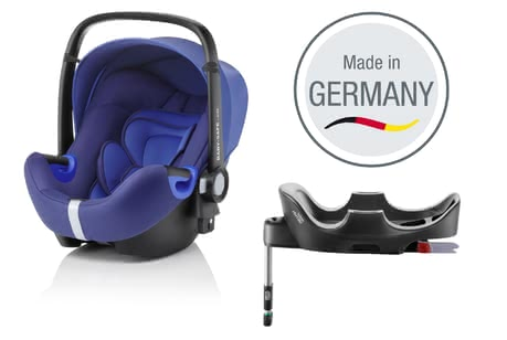 Britax Römer infant carrier Baby Safe i-Size incl. Flex Base Ocean Blue 2017 - large image