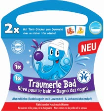 Tinti Träumerle bath - This bubble bath will spoil your little one's skin.