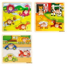 Spielmaus lift-out puzzle 4 pieces -
