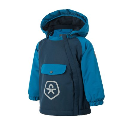 Color Kids Winterjacke RAIDO Turkish Tile 2016 - Großbild
