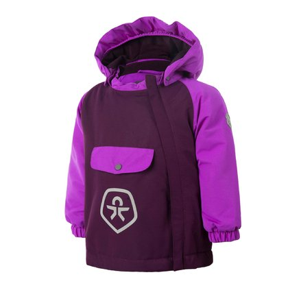 Color Kids Winterjacke RAIDO Purple Cactus 2016 - large image