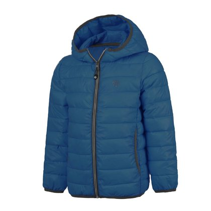 Color Kids Steppjacke RAKKE Deep Ocean - Großbild