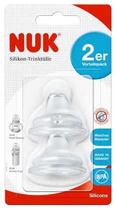 NUK FIRST CHOICE Soft-Trinktülle aus Silikon 2er Pack 2017 - 大圖像