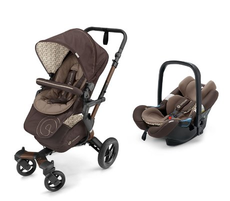 Concord Buggy NEO inkl. Babyschale Air.Safe Toffee Brown 2017 - Großbild