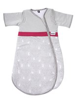 Gesslein Schlafsack Bubou, Hase grau-pink - The elegant gray sleeping bag with your small children through the night.