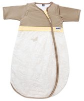 Gesslein Schlafsack Bubou, Schmetterling beige - Sweet dreams are guaranteed in the soft sleeping bag. The delicate butterfly accompanies your child and hanging with him together over the meadow.
