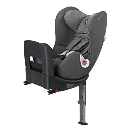 Cybex  детское автокресло Sirona Plus из серии Platinum Manhattan Grey - mid grey 2018 - большое изображение