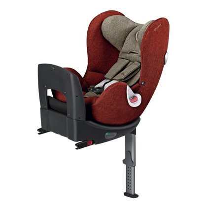Cybex  детское автокресло Sirona Plus из серии Platinum Autumn Gold - burnt red 2018 - большое изображение