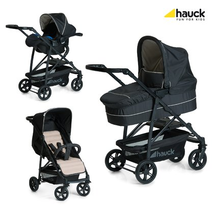 Hauck Rapid stroller 4 Plus trio set - This sporty Hauck rapid 4 plus trio set impressed with his innovative and sophisticated folding technique.