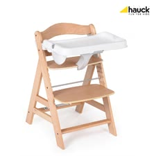 Hauck food tray Alpha - The removable tray is the perfect complement to your Hauck Alpha highchair. Through the alpha-tray your child can take the meals at his own table.
