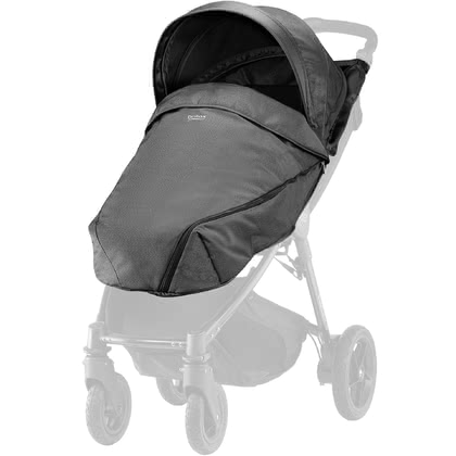 Britax B-AGILE Plus und B-MOTION Plus Canopy Pack Denim-Kollektion Black Denim 2018 - Großbild