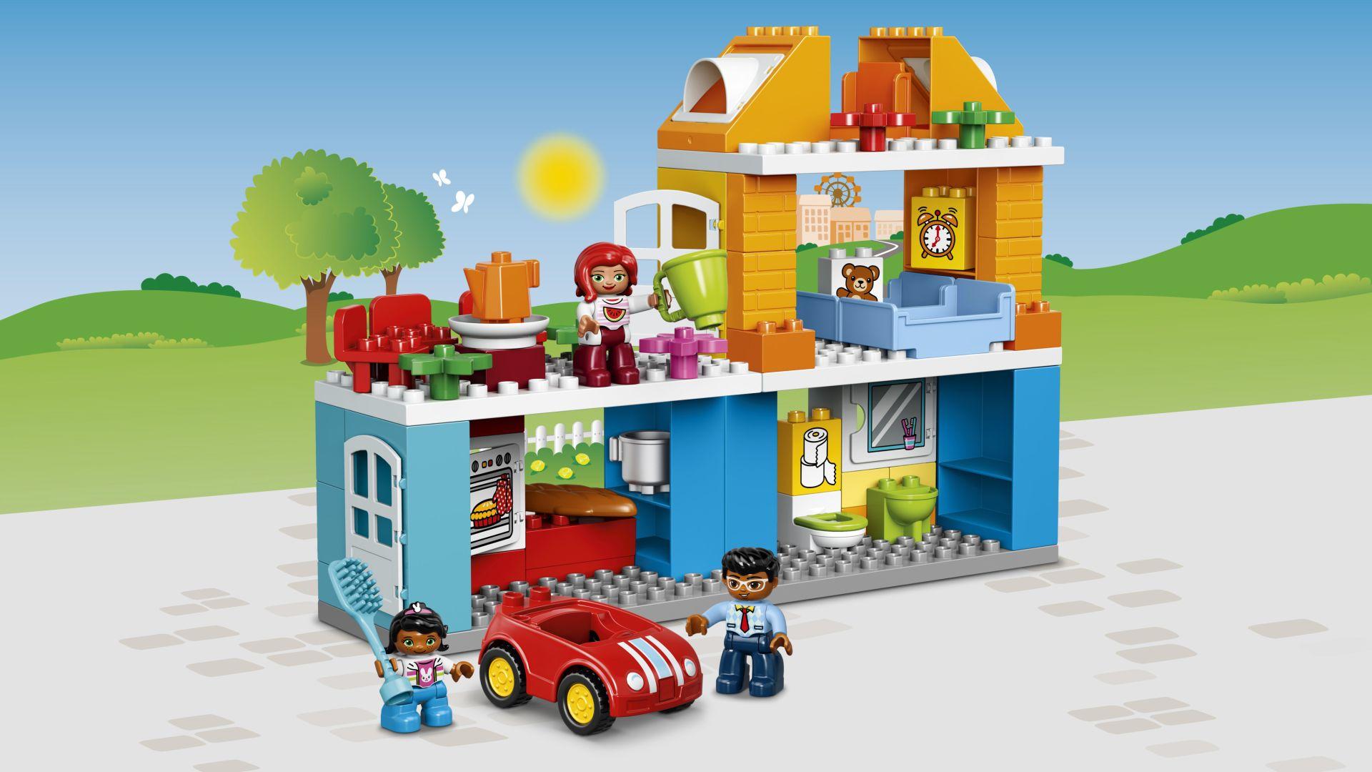 maison familiale lego duplo acheter sur kidsroom jouet jouets pour enfants. Black Bedroom Furniture Sets. Home Design Ideas