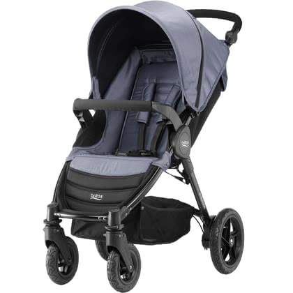 Britax B-Motion 4 Denim Collection Blue Denim 2019 - Image de grande taille