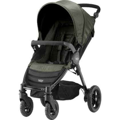 Britax B-Motion 4 Denim Collection Olive Denim 2019 - Image de grande taille