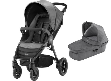 Britax B-Motion 4 incl. nacelle dans la collection de denim - * un set utile dans un look denim. Le Britax B-Motion 4 incl. Nacelle fera rêver.