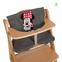 Cojín para trona Deluxe Disney Mickey & Minnie - Los cojines de silla confortable deluxe están decorados con encantador Disney Mickey & Minnie-themed.