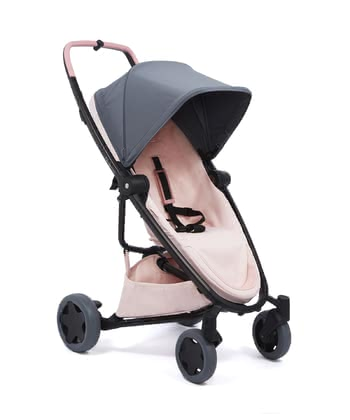 Quinny Buggy Zapp Flex Plus Graphite on Blush 2017 - Großbild