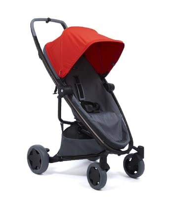 Silla de paseo Zapp Flex Plus Quinny Red on Graphite 2020 - Imagen grande