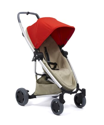 Quinny Buggy Zapp Flex Plus Red on Sand 2019 - Image de grande taille